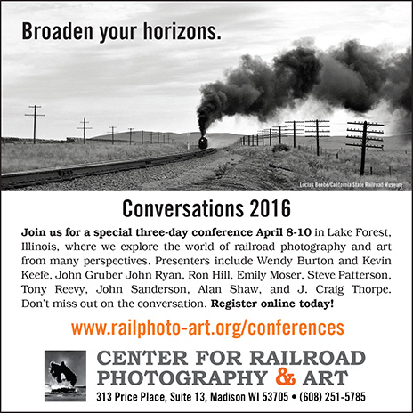 About the Center – Center for Railroad Photography & Art