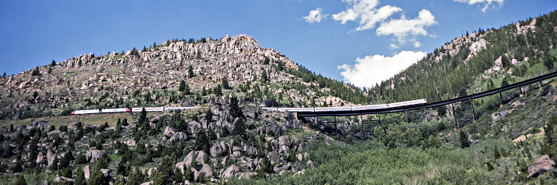 Amtrak on Homestake Pass